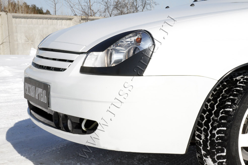 Установка ресничек на передний бампер - Drive2 ru