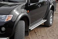 Расширители колесных арок на Mitsubishi L200