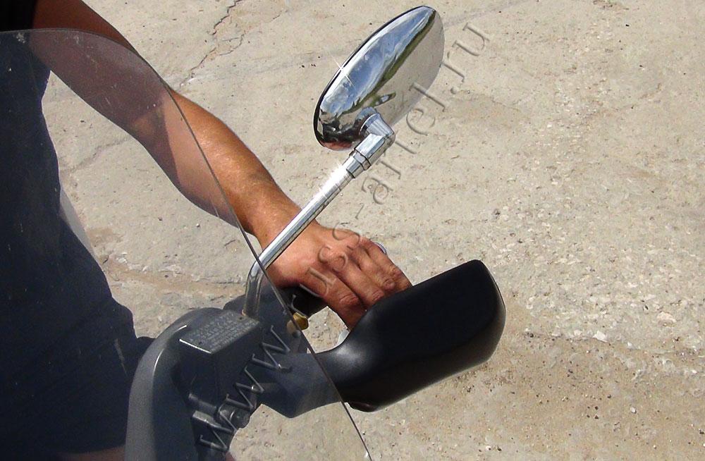 Ручка мотоцикла своими руками
